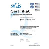 ISO 9001:2015 ISO 14001:2015 OHSAS 18001:2007